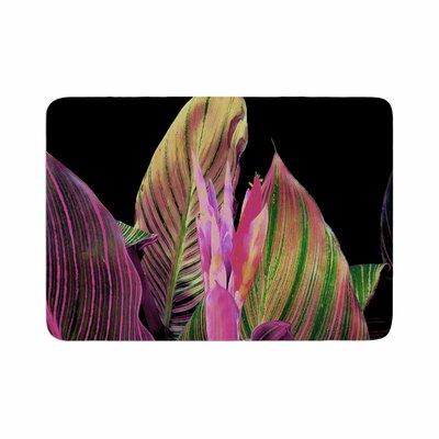 Victoria Krupp Magenta Digital Memory Foam Bath Rug Size: 0.5 H x 17 W x 24 D
