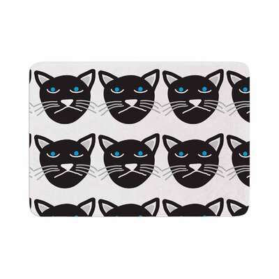 Vasare Nar Grumpy Cat Animals Memory Foam Bath Rug Size: 0.5