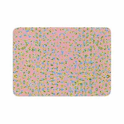 Vasare Nar Lepoard Pattern Memory Foam Bath Rug Size: 0.5 H x 17 W x 24 D