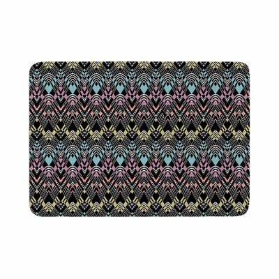 Victoria Krupp Tribal Zigzag Digital Memory Foam Bath Rug Size: 0.5 H x 24 W x 36 D