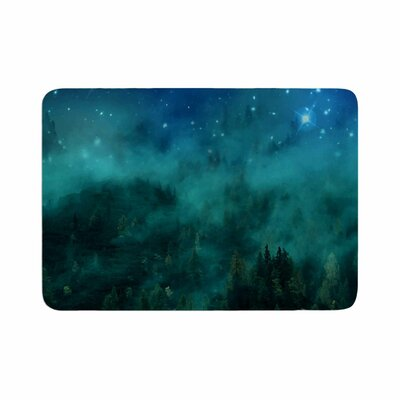 888 Design Forest Night Memory Foam Bath Rug Size: 1 H x 24 W x 36 D