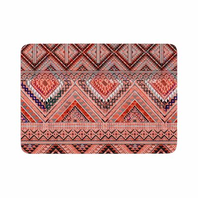 Victoria Krupp Native American Art Illustration Memory Foam Bath Rug Size: 0.5 H x 17 W x 24 D