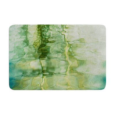 Malia Shields Fluidity Series #3 Abstract Memory Foam Bath Rug Size: 0.5 H x 24 W x 36 D
