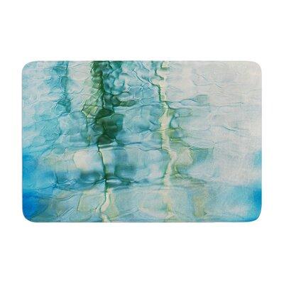 Malia Shields Fluidity Series #2 Memory Foam Bath Rug Size: 0.5 H x 17 W x 24 D