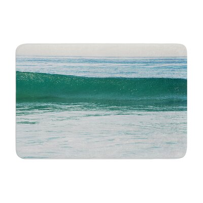 Nick Nareshni the Lone Wave Memory Foam Bath Rug Size: 0.5 H x 17 W x 24 D
