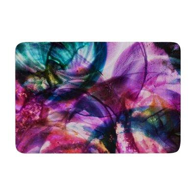 Malia Shields Bubble Series #5 Memory Foam Bath Rug Size: 0.5 H x 24 W x 36 D