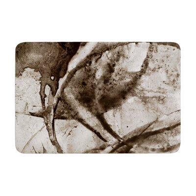 Malia Shields Universe Series BW Memory Foam Bath Rug Size: 0.5 H x 24 W x 36 D
