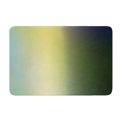 Malia Shields Aura Series #4 Abstract Memory Foam Bath Rug Size: 0.5 H x 17 W x 24 D