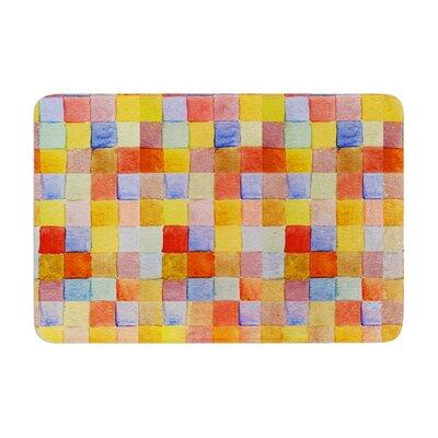 Marianna Tankelevich Mozaic Pattern Memory Foam Bath Rug Size: 0.5 H x 17 W x 24 D