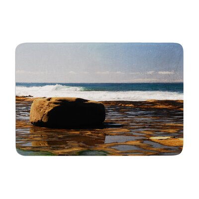 Nick Nareshni the Lone Rock Memory Foam Bath Rug Size: 0.5 H x 17 W x 24 D