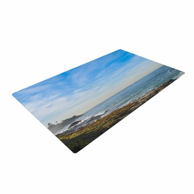 Nick Nareshni Sky Over the Ocean Coastal Blue/Teal Area Rug