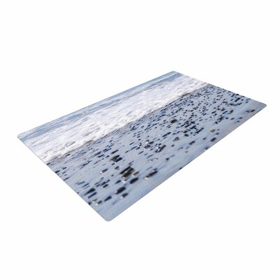 Nick Nareshni Solana Beach Sand Stones White/Gray Area Rug
