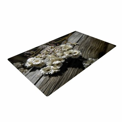 Nick Nareshni Rustic Flowers Beige/Brown Area Rug