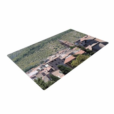 Nick Nareshni Florence Architecture Travel Photography Green/Brown Area Rug