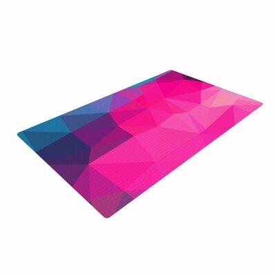 Oriana Cordero Poly-Sunrise Pink/Purple Area Rug