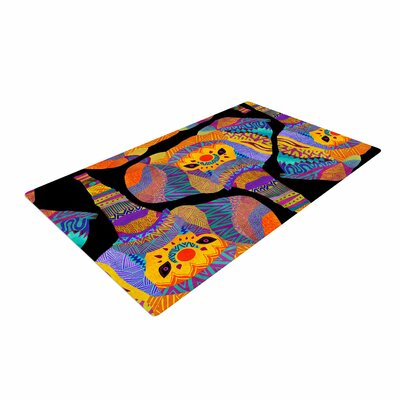 Pom Graphic Design the Elephant in the Room Tribal Rainbow Area Rug