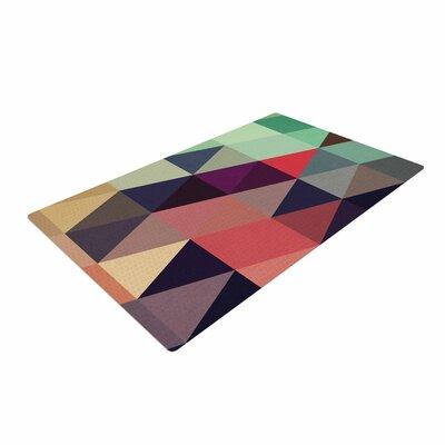 Juan Paolo Labyrinth Geometric Multicolor Area Rug