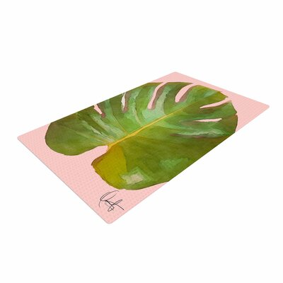 Oriana Cordero Tropico Pink/Green Area Rug