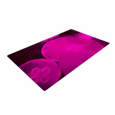 Juan Paolo Jellyfish Pink/Magenta Area Rug