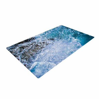 Juan Paolo La Jolla Shores Blue/White Area Rug