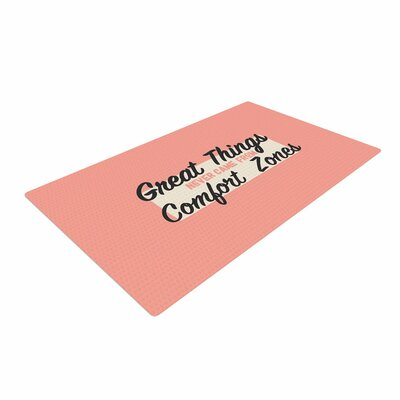 Juan Paolo Great Things Digital Vintage Pink/White Area Rug