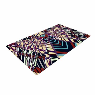 Pia Schneider Sweeping Line Pattern I-E Geometric Multicolor Area Rug