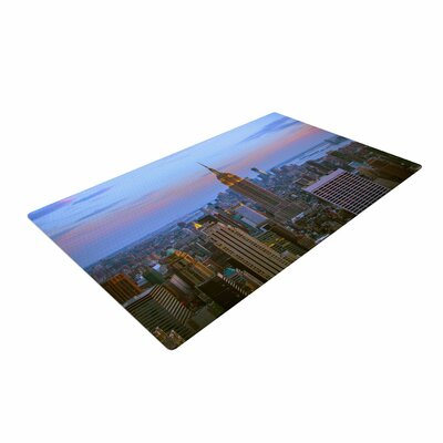 Juan Paolo Empire State of Mind Blue Area Rug