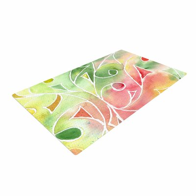 Rosie Brown Gift Wrap Multicolor/Pastel Area Rug