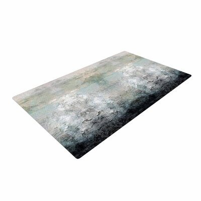 Pia Schneider Abstract No.1 Gray/White Area Rug Rug Size: 2 x 3