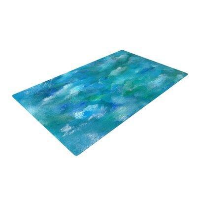 Rosie Brown Ocean Waters Blue Area Rug