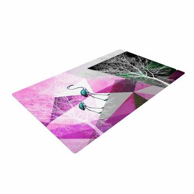Pia Schneider Flamingo P22 Geometric Pink Area Rug