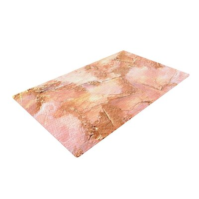 Rosie Brown Bronze It Paint Orange Area Rug Rug Size: 4 x 6