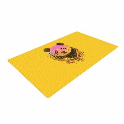 BarmalisiRTB Dandy Panda Pink/Yellow Area Rug