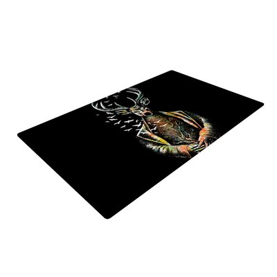 BarmalisiRTB There is No Place Deer Area Rug Rug Size: 4 x 6