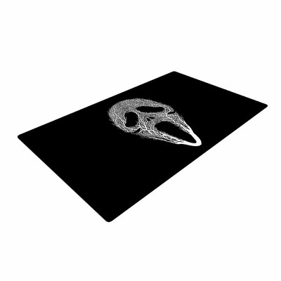 BarmalisiRTB The Scream Tree Black/White Area Rug