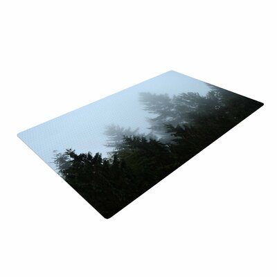 Robin Dickinson Welcome to Earth Forest Mist Area Rug