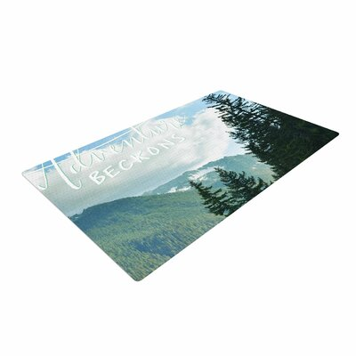 Robin Dickinson Adventure Beckons Landscape Nature Area Rug
