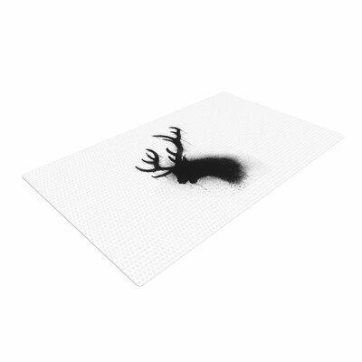 BarmalisiRTB Dark Deer Black/White Area Rug