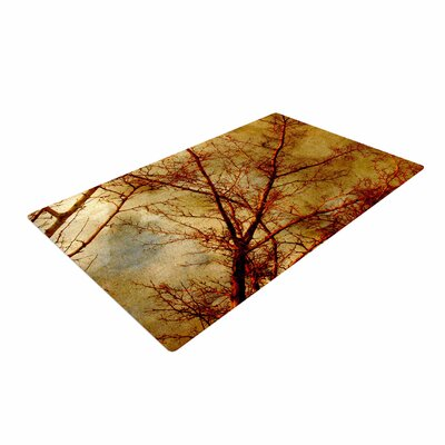 Sylvia Coomes Gothic Tree Red/Gold/Nature Area Rug