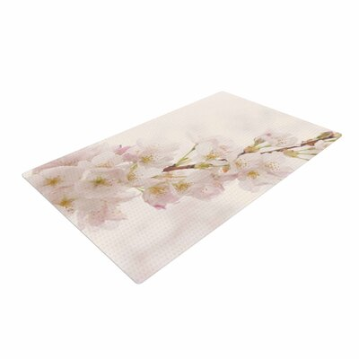 Robin Dickinson Its That Time Floral Photography Ivory Area Rug