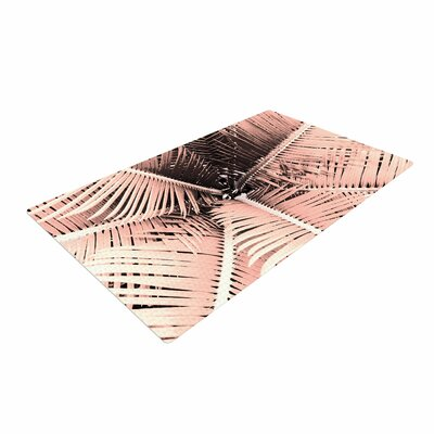Suzanne Carter Palm Pink/Black Area Rug