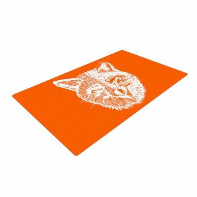 BarmalisiRTB Foxface Digital Orange Area Rug