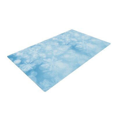 Snap Studio Winter is Coming Aqua Area Rug Rug Size: Rectangle 4 x 6