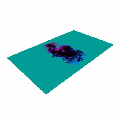 BarmalisiRTB Forest Queen People Teal Area Rug