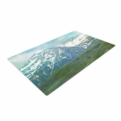 Sylvia Coomes Mountains Blue/Nature/Pastel Area Rug
