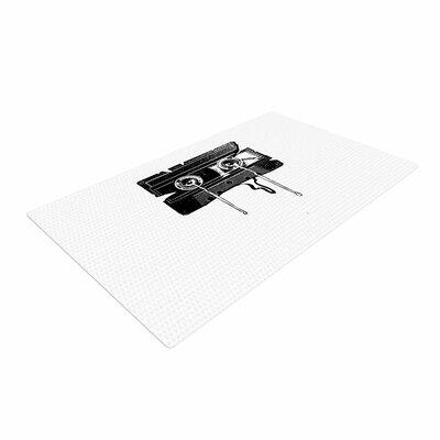 BarmalisiRTB Cassette Memories Black/White Area Rug