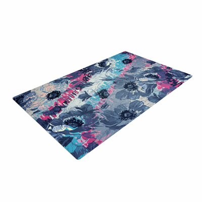 Suzanne Carter Poppy Blue/Pink Area Rug