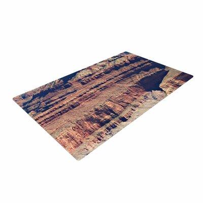 Sylvia Coomes Grand Canyon Landscape 1 Brown/Tan Area Rug
