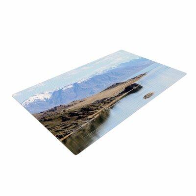Sylvia Coomes Mountain Reflection Brown/Nature Area Rug