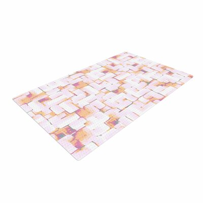 Rachel Watson Cobble Coral/Orange Area Rug